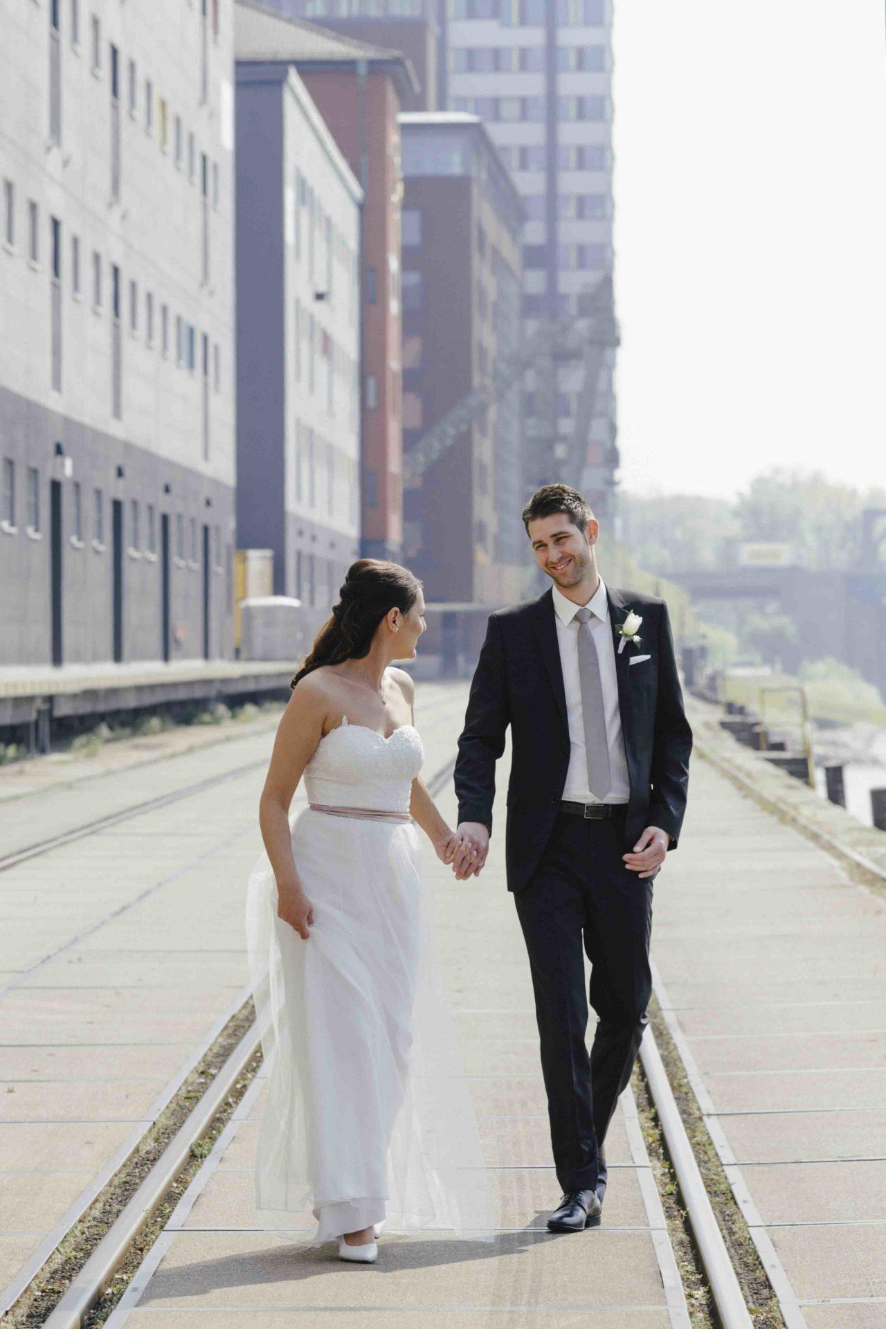 Hochzeitsbilder Mannheim Hafen