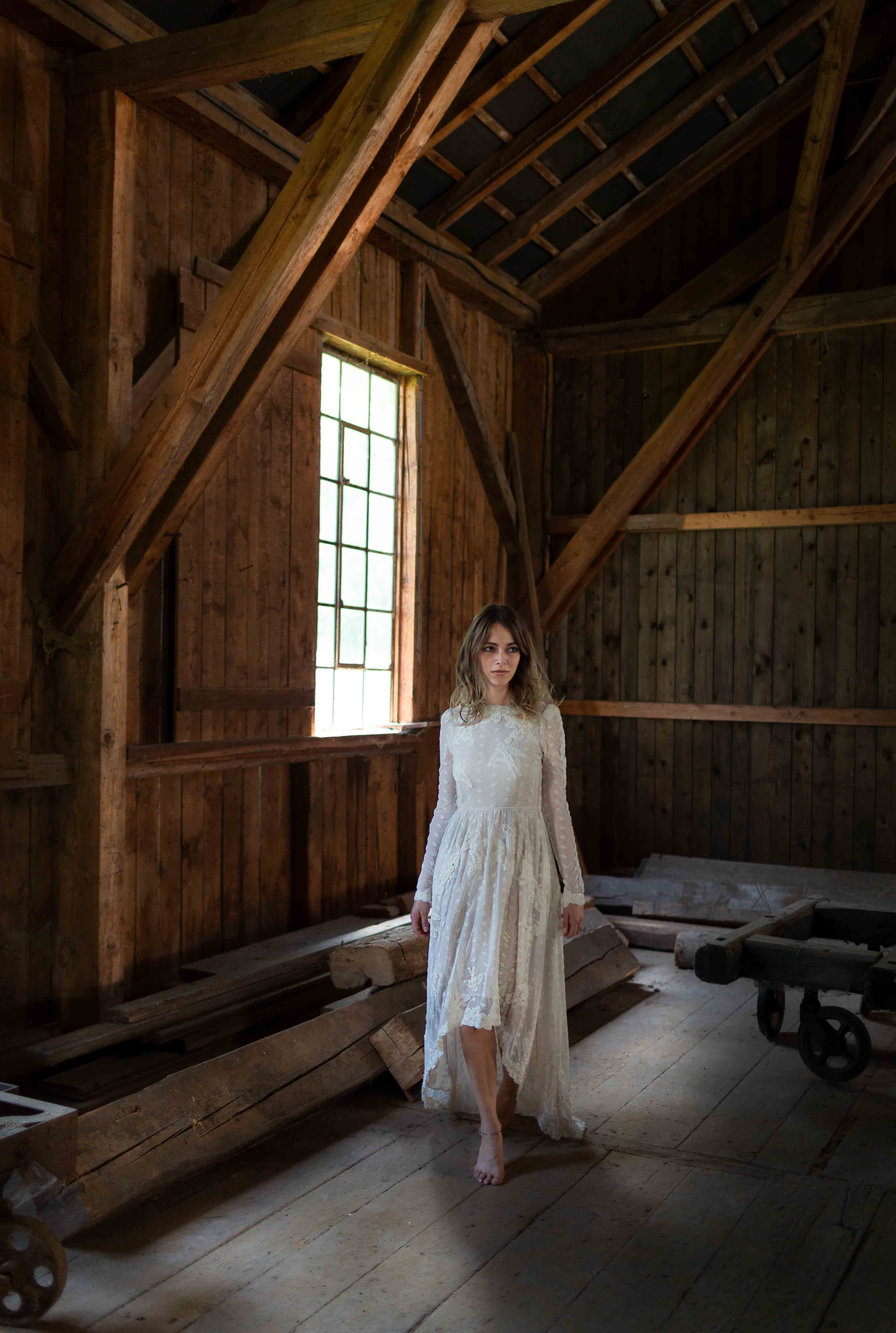 Fotos von einer Boho-Braut