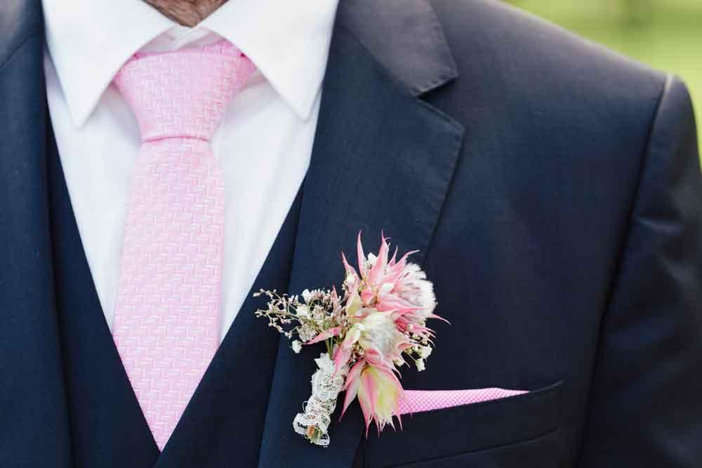 Hochzeitsblumen Bräutigam Maryflowers