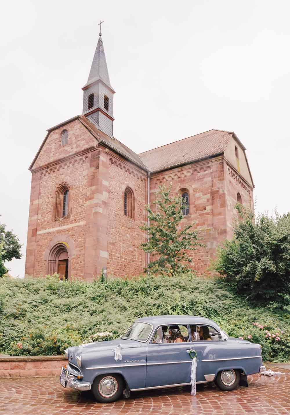 Kirchliche Trauung Klosterkirche Lobenfeld