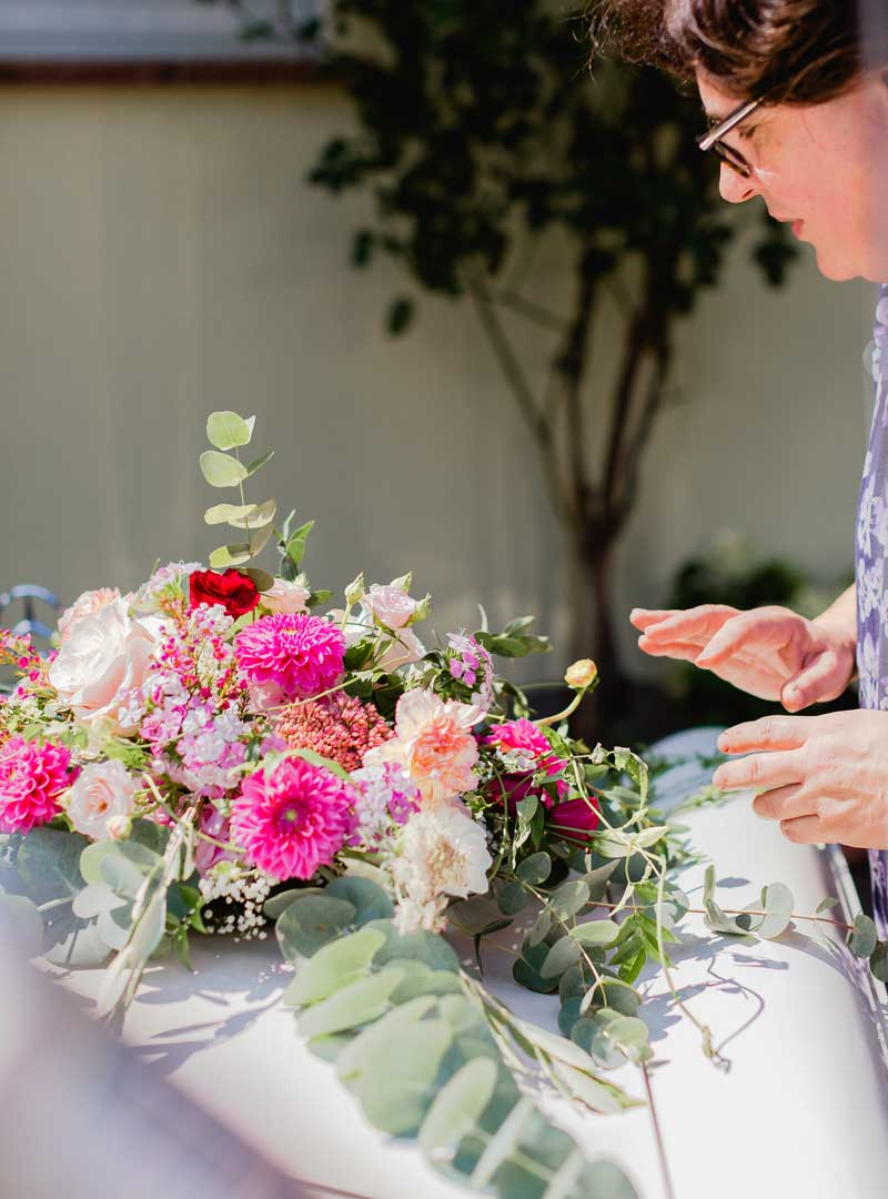 Empfehlgung von Hochzeitsfloristen in Heidelberg